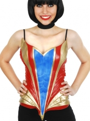 Super Heroine Latex Chest Plate